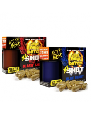 High Voltage Detox Shot XL Capsules and Liquid