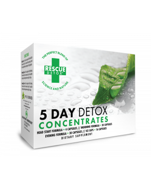 Rescue 5 Day Detox Concentrate Kit