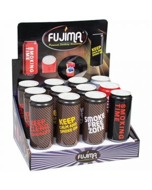 FUJIMA CAN SHAPE ASHTRAY WITH LED LIGHT (EX16)