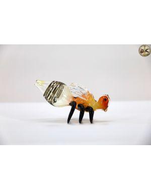Gold Honey Bee Hand Pipe