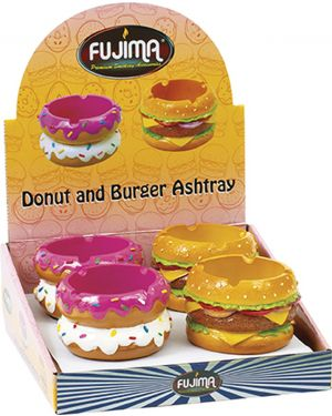FUJIMA DONUT AND BURGER ASHTRAY (LT403)