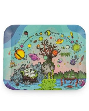 OOZE ROLLING TRAY - BIODEGRADABLE - TREE OF LIFE
