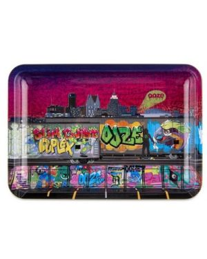 OOZE ROLLING TRAY - METAL - TAG