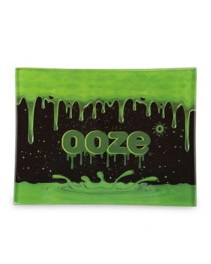OOZE ROLLING TRAY - SHATTER RESISTANT GLASS - OOZE