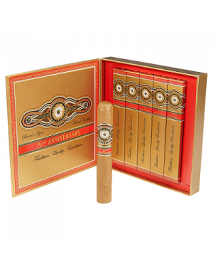 Perdomo 20th Anniversary Connecticut Epicure Gift Boxes