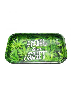 Roll That Shit Rolling Tray - Metal