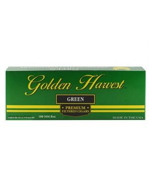Golden Harvest Filtered Cigars Menthol
