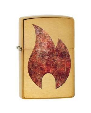 Zippo  Rusty Flame Design
