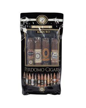 Perdomo 4-Pack Humidified Sampler - Maduro
